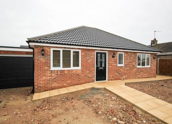 Thumbnail 3 bedroom detached bungalow for sale in Nightingale Close, Scratby, Great Yarmouth
