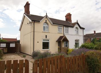 Thumbnail 3 bedroom semi-detached house for sale in Top Road, Worlaby, Brigg