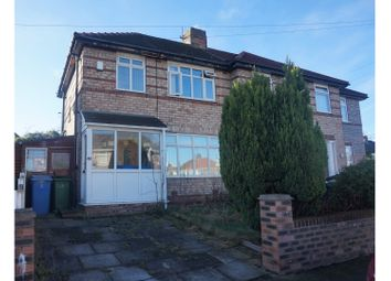 Thumbnail 3 bed semi-detached house for sale in Francis Way, Liverpool