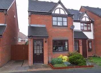 Thumbnail 2 bedroom terraced house to rent in Lutley Close, Bradmore, Wolverhampton