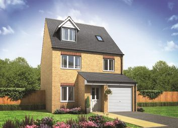 "Thumbnail 4 bed town house for sale in ""The Runswick"" at Belt Road, Hednesford, Cannock"