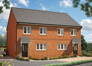 "Thumbnail 3 bed end terrace house for sale in ""The Rowan"" at Field End, Witchford, Ely"