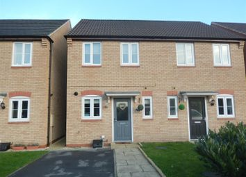 Thumbnail 2 bedroom semi-detached house for sale in Chipmunk Way, Newton, Nottingham