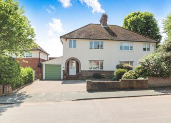 Thumbnail 3 bedroom semi-detached house for sale in Stafford Drive, Broxbourne