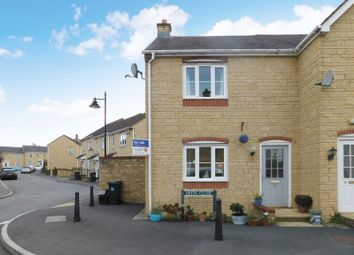 Thumbnail 2 bed end terrace house for sale in Delta Close, Frome