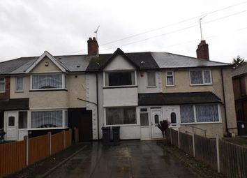 Thumbnail 3 bed terraced house for sale in Burney Lane, Birmingham, West Midlands
