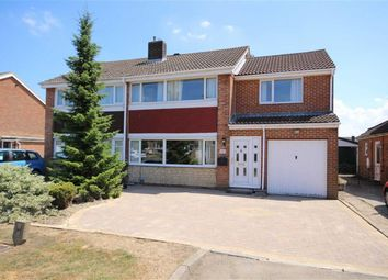 Thumbnail 4 bed semi-detached house for sale in Finchdale, Swindon