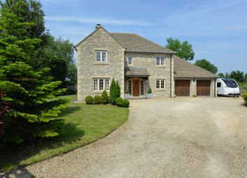 Thumbnail 4 bedroom detached house for sale in Common Farm, Witts Lane, Purton, Wiltshire