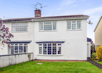 Thumbnail 4 bedroom semi-detached house for sale in Glyn Eiddew, Cardiff