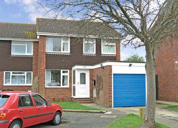 Thumbnail 3 bed semi-detached house for sale in Hornbeam Road, Denvilles, Havant, Hampshire