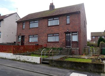 Thumbnail 3 bed semi-detached house for sale in Churchill Crescent, Ayr