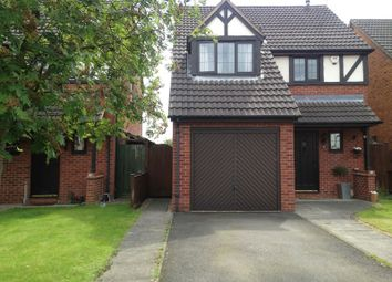Thumbnail 3 bed detached house for sale in Eaton Close, Hatton, Derby