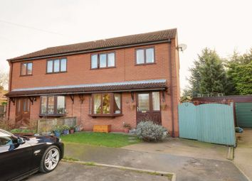 Thumbnail 3 bed semi-detached house for sale in School Lane, Bonby, Brigg
