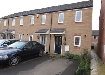 Thumbnail 2 bed end terrace house for sale in Apollo Avenue, Farcet, Peterborough