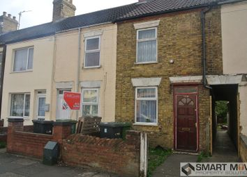 Thumbnail 2 bedroom terraced house for sale in Lincoln Road, Peterborough, Cambridgeshire.