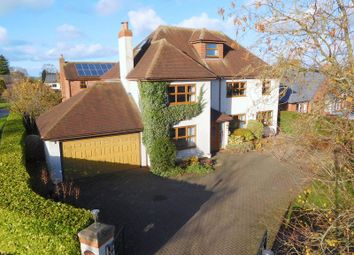 Thumbnail 5 bed detached house for sale in Cheshire Street, Audlem, Crewe