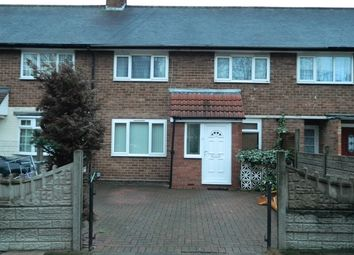 Thumbnail 3 bedroom terraced house to rent in Riddfield Road, Hodge Hill, Birmingham