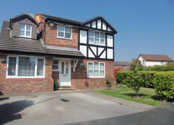 Thumbnail 4 bed detached house for sale in Winterley Drive, Halewood, Liverpool