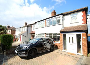 Thumbnail 3 bed semi-detached house for sale in Strodes Crescent, Staines-Upon-Thames