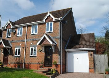 Thumbnail 2 bed semi-detached house for sale in Hazels Paddock, Cold Ash, Thatcham