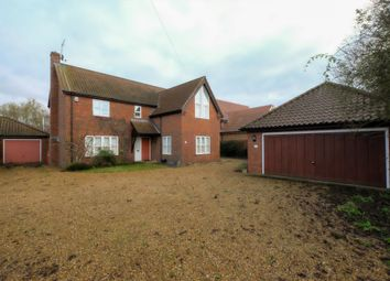 Thumbnail 4 bed detached house for sale in The Street, Surlingham, Norwich