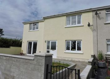 Thumbnail 4 bed semi-detached house for sale in Bro Nantlais, Gwyddgrug, Pencader