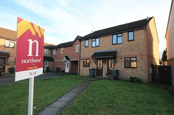 Thumbnail 2 bedroom semi-detached house to rent in Westbury, Wiltshire