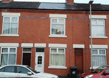Thumbnail 2 bed terraced house for sale in Linton Street, Off Evington Road, Leicester