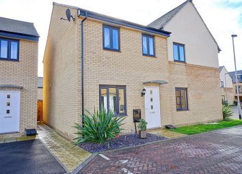 Thumbnail 2 bedroom semi-detached house for sale in Wren Close, St Ives, Cambridgeshire