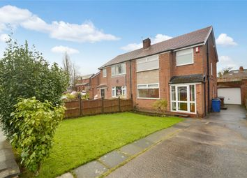 Thumbnail 3 bed semi-detached house to rent in St Simons Close, Offerton, Stockport, Cheshire
