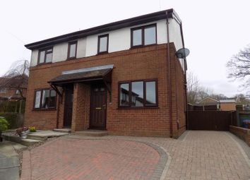 Thumbnail 2 bedroom semi-detached house to rent in Cross Swords Close, Chorley
