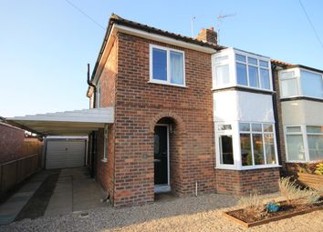 Thumbnail 3 bed semi-detached house for sale in The Close, Romanby, Northallerton