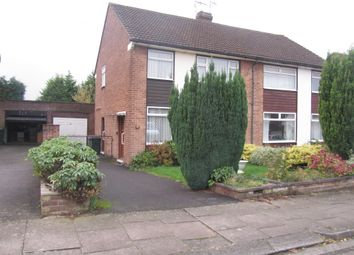 Thumbnail 3 bed semi-detached house for sale in Dalmeny Road, Coventry
