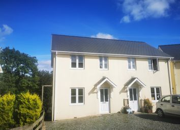 Thumbnail 3 bed semi-detached house to rent in Cae Gwen, Mydroilyn