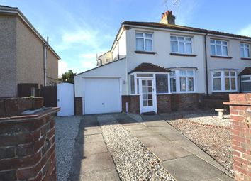 Thumbnail 3 bed semi-detached house to rent in George V Avenue, Worthing, West Sussex