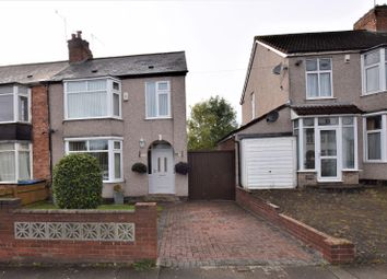 Thumbnail 3 bed semi-detached house for sale in Browett Road, Coundon, Coventry