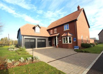 Thumbnail 4 bed detached house for sale in Woodlands, Townhouse Road, Old Costessey, Norwich