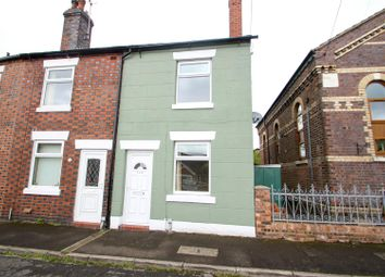 Thumbnail 2 bed end terrace house to rent in Leycett Road, Scot Hay, Newcastle