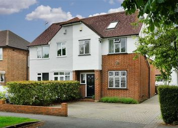 Thumbnail 4 bed semi-detached house for sale in Chipstead Way, Banstead, Surrey
