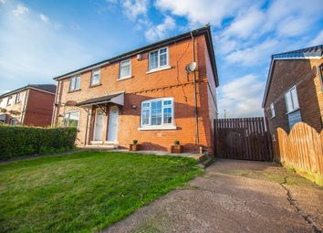Thumbnail 3 bed semi-detached house to rent in Fullerton Crescent, Thrybergh, Rotherham