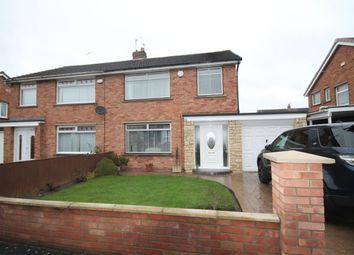 Thumbnail 3 bed semi-detached house for sale in Sadberge Grove, Stockton-On-Tees