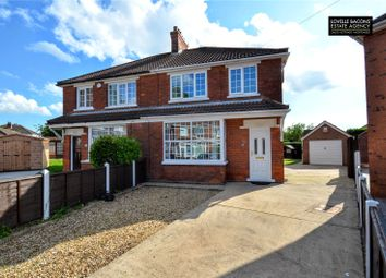 Thumbnail 3 bed semi-detached house for sale in Melbourne Avenue, Scartho, Grimsby