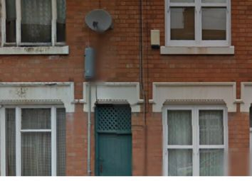 Thumbnail 1 bed terraced house to rent in Paget Road, Leicester