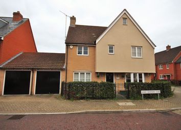 Thumbnail 4 bed detached house for sale in Agnes Silverside Close, Colchester