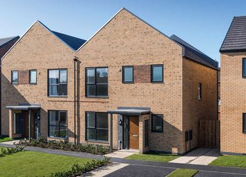 "Thumbnail 3 bed semi-detached house for sale in ""The Elm"" at Aspen Close, Birtley, Chester Le Street"