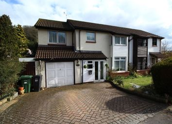 Thumbnail 4 bed semi-detached house for sale in Valley Road, Clevedon