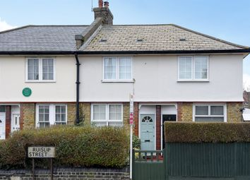 Thumbnail 2 bed terraced house for sale in Ruislip Street, London