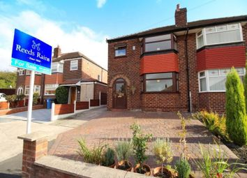 Thumbnail 3 bed semi-detached house to rent in Waverton Avenue, Heaton Chapel, Stockport