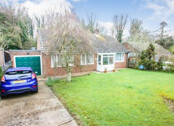 Thumbnail 3 bed bungalow for sale in Martin Dale Crescent Martin Mill, Dover, Kent
