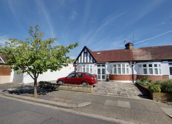 Thumbnail 3 bed semi-detached bungalow for sale in Manorway, Enfield